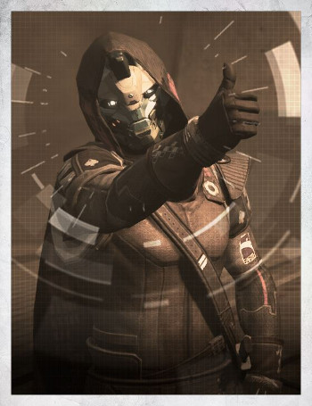 Ghost Fragment: Cayde-6 (Grimoire Card) - Destiny 1 Wiki - Destiny 1