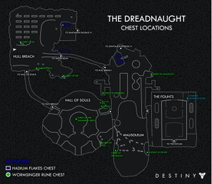 300px Dreadnaught chest locations map3 - How To Get The Key Of Wyrding In Destiny