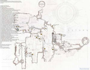 Map of Dreadnaught with Calcified Fragment locations created by VoltronSky